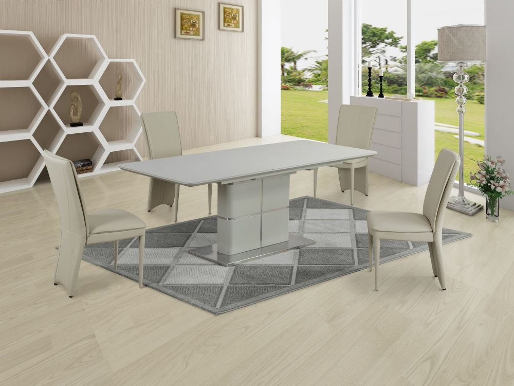 GA Porcelanosa  Cream Dining Table & Cream, 4, 6, 8 and 10 Chairs